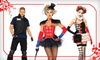 Vampire Disco **DNR**: High-End Adult Halloween Costumes from Vampire Disco (Up to Half Off). Two Options Available.