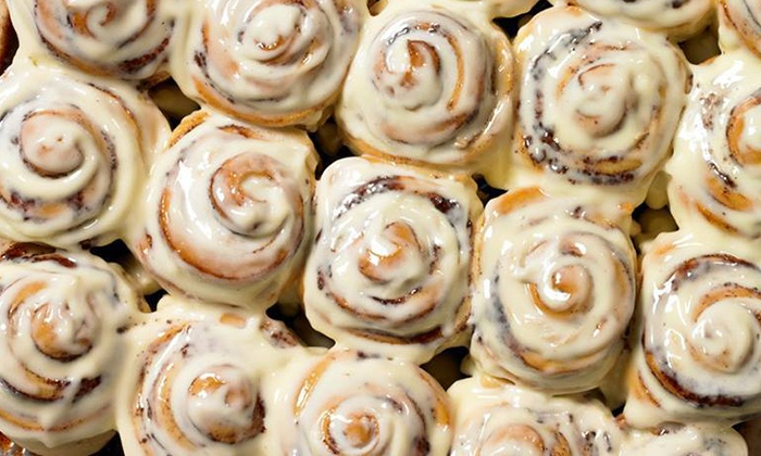 Cinnabon - Downtown: $12 for Four Groupons, Each Good for One Classic Roll at Cinnabon ($24 Value)