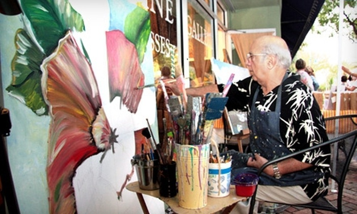 Talin Tropic Co. - Boca Raton: $36 for an Adult BYOB Painting Class for Two at Talin Tropic Co. in Boca Raton ($90 Value)
