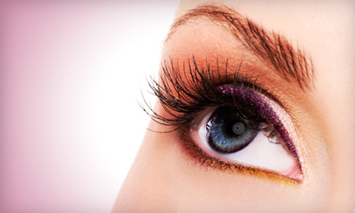 ICONS - Downtown: Eyelash Extensions, Mani-Pedi, or Hairstyling Package with Blow-Dry and Makeup Session at Icons (Up to 59% Off)