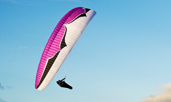 Soboba Paragliding - San Jacinto: Introductory Paragliding Class and Flight for One or Two at Soboba Paragliding (Up to 50% Off)