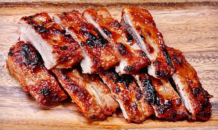 Smoken Bones Cookshack - Downtown: Barbecue at Smoken Bones Cookshack (Up to 51% Off). Two Options Available.