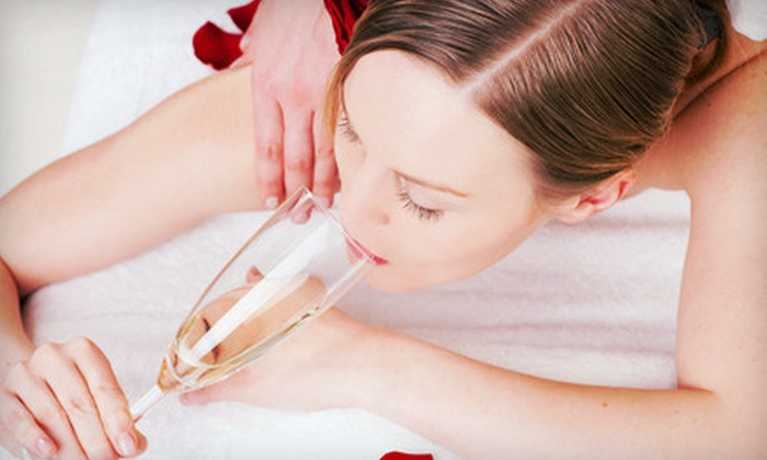 The Spa - The Spa: Ultimate, Signature, or Lomi Lomi Massage with Sparkling Juice and Chocolates at The Spa (Up to 56% Off)