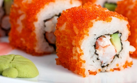Sushi and Asian Cuisine for Lunch or Dinner at Sakura (Up to 50% Off). Three Options Available.