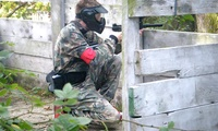 Paintball Experience with 200 Balls, Hot Dog and Hot Drink for Up to 36 with Command Zone