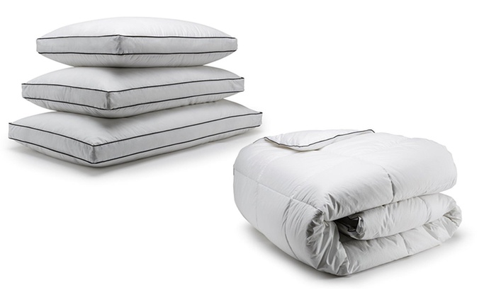 Canadian Down & Feather Company Inc.: Microfiber Duvet or Pillows at Canadian Down & Feather Company Inc. (Up to 66% Off). 7 Options Available.