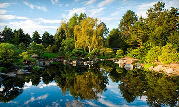 Denver Botanic Gardens - Cheeseman Park: Visit for One, Two, or Four to Denver Botanic Gardens (52% Off)