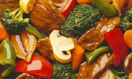 $12 for $20 Worth of Create-Your-Own Stir-Fry Dinner at BD's Mongolian Grill