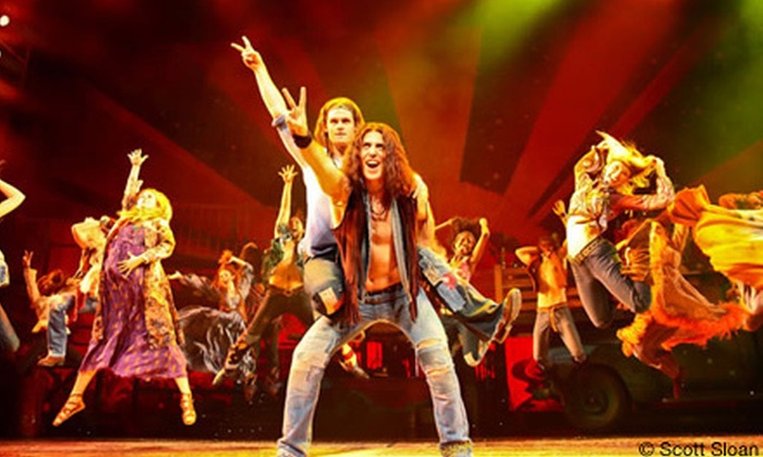 "Hair - Joe Louis Arena: ""Hair"" Broadway Musical Performance at Fox Theatre on March 2 at 3 p.m. or 8 p.m. or March 3 at 1 p.m. (Up to 41% Off)"