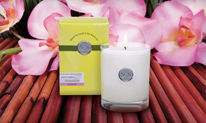 The Soi Company: $25 for $75 Worth of Soy-Based Candles from The Soi Company