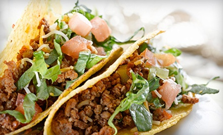 $6 for Two Groupons, Each Good for $10 Worth of Casual Latin Cuisine and Drinks at Fuego Tacos