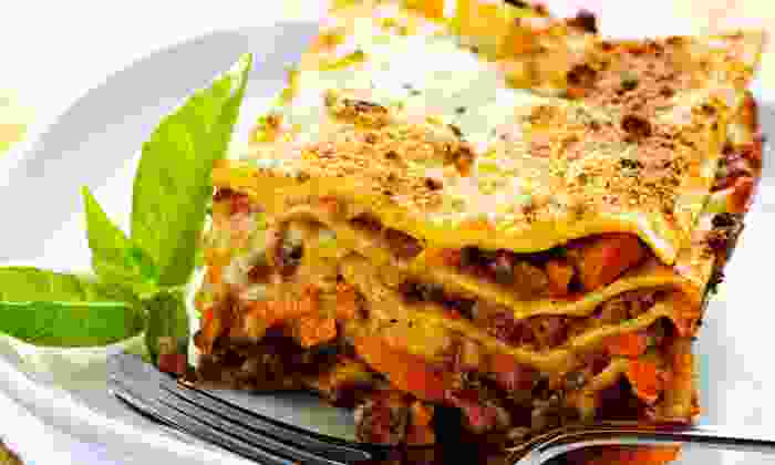 Clancy's Meat Co. - Newmarket: $13 for a Family Dinner of Italian-Sausage Lasagna at Clancy's Meat Co. ($22.94 Value)