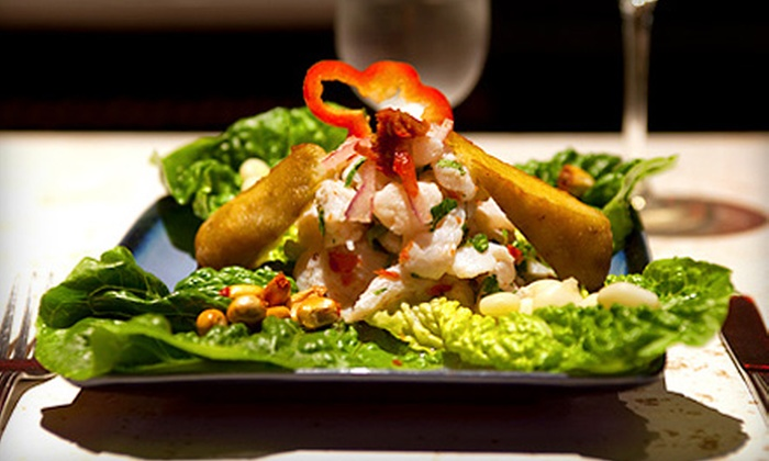 La Furia Chalaca - Produce and Waterfront: $15 for $30 Worth of Peruvian Cuisine at La Furia Chalaca