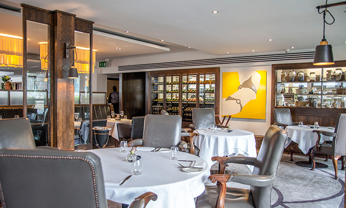 quartier restaurant and dining room moorgate in london