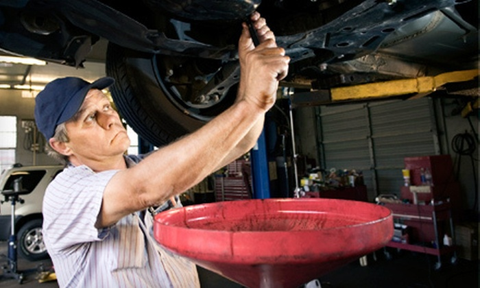 Carney Tire and Car Care Center - Carney: Oil-Change Packages at Carney Tire and Car Care Center (Up to 76% Off). Three Options Available.