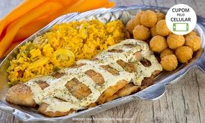 Kodai Sea Food: Kodai Sea Food - Jardim São Paulo: saint peter com sobremesa para 2 ou 4 pessoas