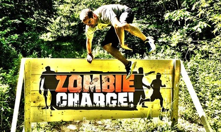 5K Entry Package for One or Two to Zombie Charge on Saturday, October 25 (Up to 54% Off)