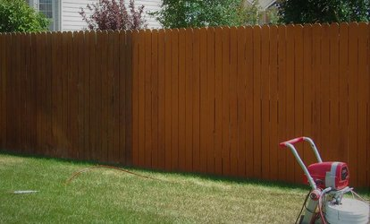 $46 for $300 voucher towards Fence <strong>Pressure-Washing</strong> and Staining from Fence Makeover