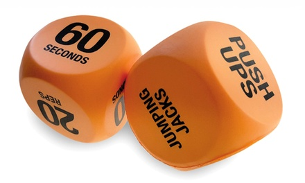 Fitness Exercise Dice