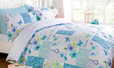 Reversible Dream Patchwork Duvet Set