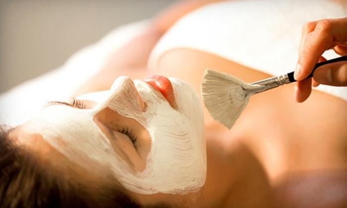 101 Hair & Nail Salon - Paradise Valley: Raspberry Glow or Microderm Facial at 101 Hair & Nail Salon (59% Off)