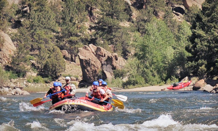 Performance Tours - Multiple Locations: Half-Day Whitewater Rafting Trip for Two or Four with Performance Tours (Up to 55% Off). Two Locations Available.