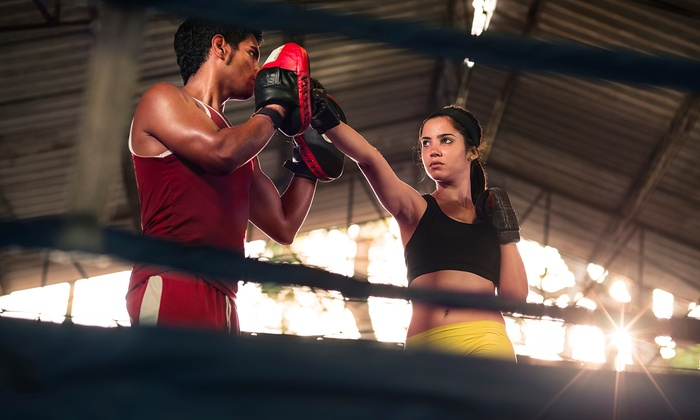 Buckhead Fight Club - Buckhead Fightclub: Boxing Boot Camp with Optional Month of Boxing Lessons for One or Two at Buckhead Fight Club (Up to 54% Off)
