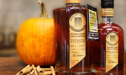 Whiskey Tour and Tasting and Souvenir Glasses for Two or Four at Sons of Liberty Spirits Company (45% Off)