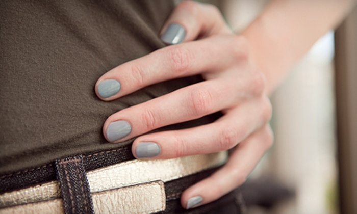 Vintage Salon and Day Spa - Nails by Brooklyn - Spokane Valley: One or Two Shellac Mani-Pedis at Vintage Salon and Day Spa – Nails by Brooklyn (Up to 59% Off)