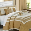 7-Piece Embroidered Comforter Sets