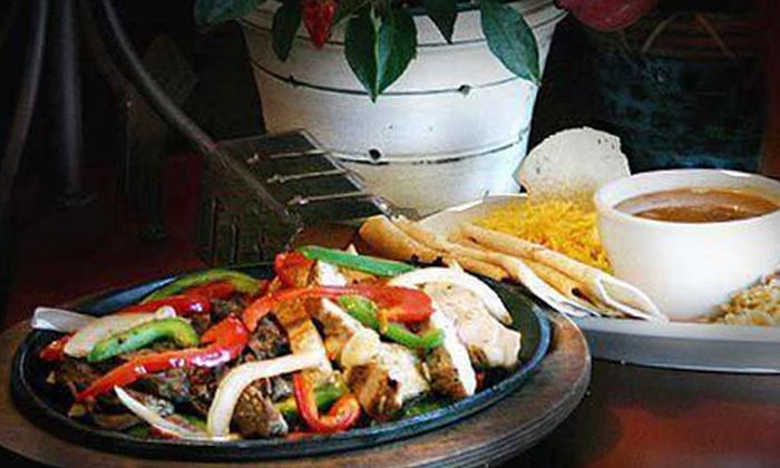 Ricardo Avila's Mextopia - Lowest Greenville: Tex-Mex Food at Ricardo Avila's Mextopia (Half Off). Two Options Available.