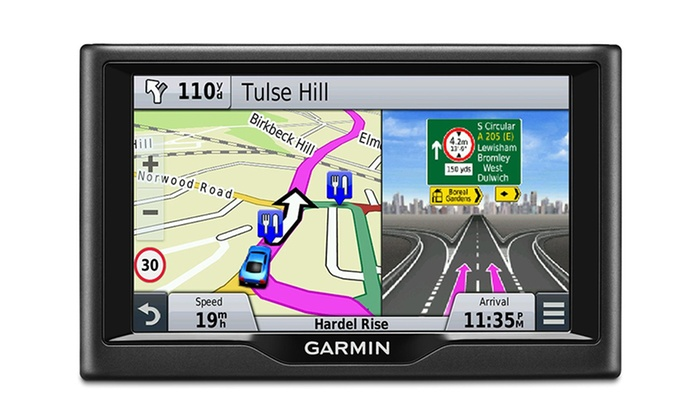 garmin n vi 57lm gps with lifetime maps manufacturer refurbished groupon. Black Bedroom Furniture Sets. Home Design Ideas