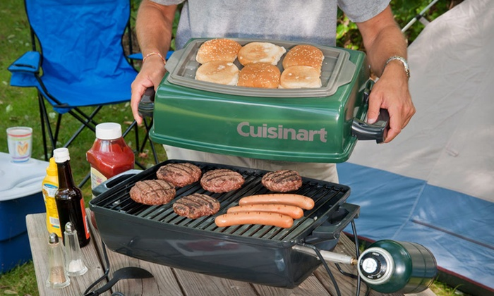 Up To 51% Off Cuisinart Tabletop Grill ...