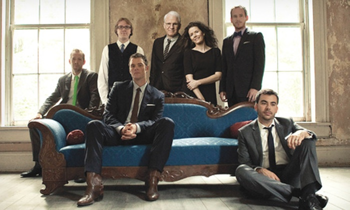 Steve Martin & The Steep Canyon Rangers Featuring Edie Brickell - The Loop: Steve Martin & The Steep Canyon Rangers Featuring Edie Brickell at The Chicago Theatre on July 25 (Up to 35% Off)