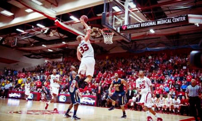 SIUE Men's Basketball - Edwardsville: $7 for Southern Illinois University Edwardsville Cougars Men's Basketball-Game Package at Vadalabene Center ($14 Value)