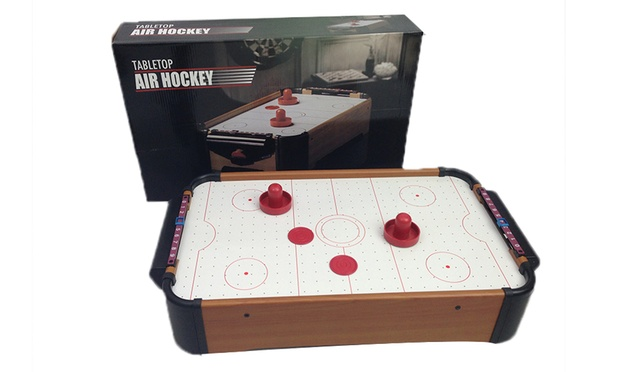 Air hockey or pool table game groupon for 12 in 1 game table groupon