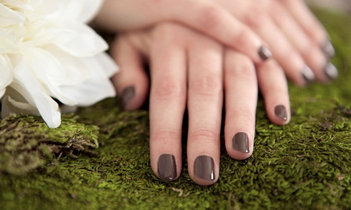 Ibiza Nails & Skin Care and The Finest Nails - Multiple Locations: $36 for a Shellac Manicure and European Pedicure (Up to $70 Value)