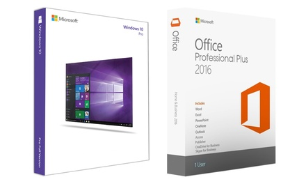Windows 10 Professional + Office 2016 Professional Plus
