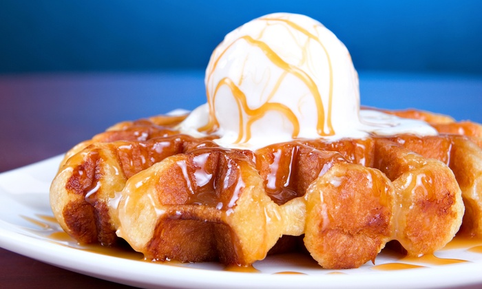 Rosten Gourmet Waffles & Grill - Rosten Pasadena: Dine-In Fare for Two or Four or $10.50 for $15 Worth of Carry-Out at Rosten Gourmet Waffles & Grill