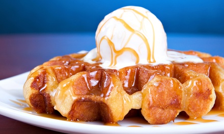 Dine-In Fare for Two or Four or $10.50 for $15 Worth of Carry-Out at Rosten Gourmet Waffles & Grill