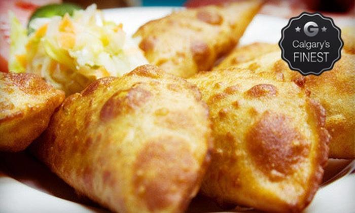 Empanada Queen - Calgary: $10 for $20 Worth of Empanadas and Chilean Food at Empanada Queen