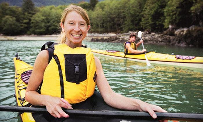 Cascade Canoe & Kayak Centers - Renton: Lake Washington Kayak Tour with Milk Shakes for One or Two from Cascade Canoe & Kayak Centers (Up to 56% Off)