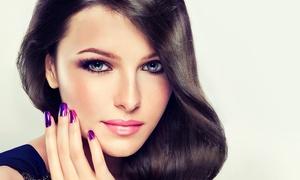 T and L Nails American Style: Beauty-Paket inkl. Pediküre, Haarschnitt, opt. mit Maniküre und Farbe, bei T and L Nails American Style (50% sparen*)