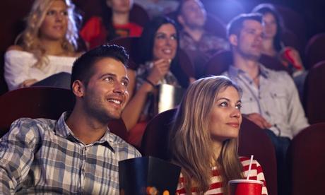 1, 2 o 4 entradas de cine con palomitas grandes de 150 g y refresco desde 5,90 € en Monopol
