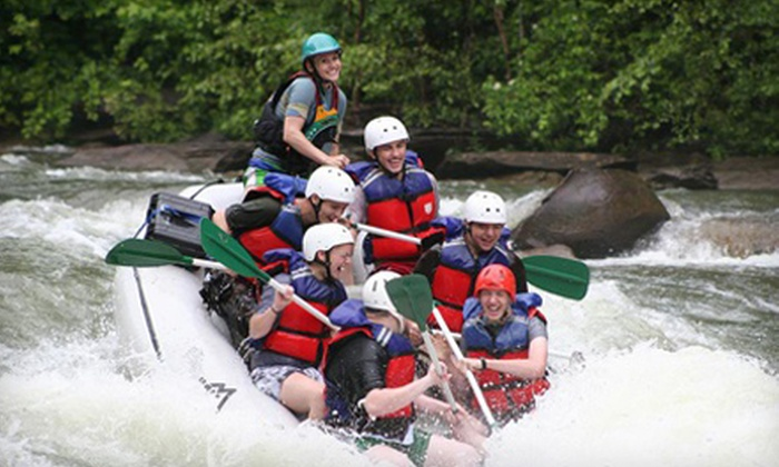 High Country Adventures - 2: Half-Day Whitewater Rafting on Middle Ocoee River for Two or Four from High Country Adventures (Up to 61% Off)