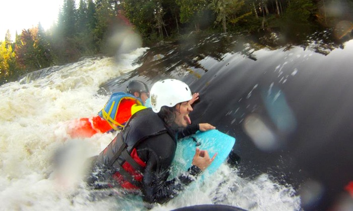 Maine Whitewater River Surfing - Millinocket: Whitewater River Surfing for One, Two, Four, or Six with Maine Whitewater River Surfing (Up to 53% Off)