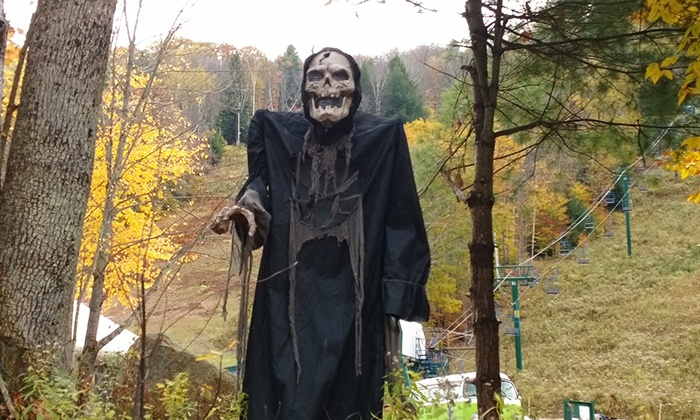 Granite Gorge - Keene/Roxbury: $15 for Admission for Two to the Haunted House and Hayride at Granite Gorge ($30 Value)