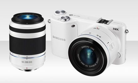Samsung NX2000 20.3MP Digital-Camera Bundle with 2 Lenses
