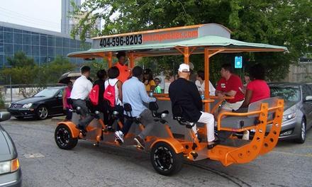 $179 for a Private Atlanta Pedal Pub Crawl Bike Tour from Peach Pedaler ($375 Value)