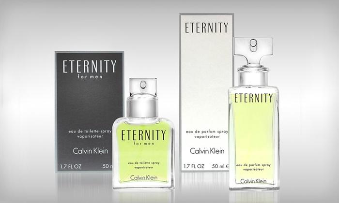 Eternity by Calvin Klein: Eternity by Calvin Klein: Women's Eau de Parfum Spray or Men's Eau de Toilette Spray (Up to 49% Off). Free Shipping.